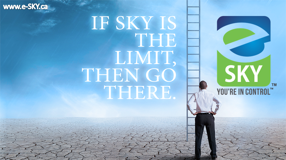 If e-SKY is the Limit than Go There